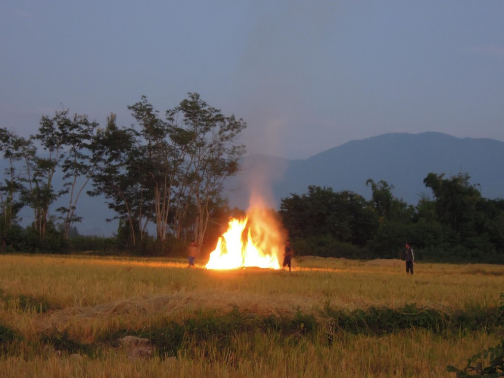 Fun by the bonfire, Muang Sing, Laos, photo by Anna Mielczarek
