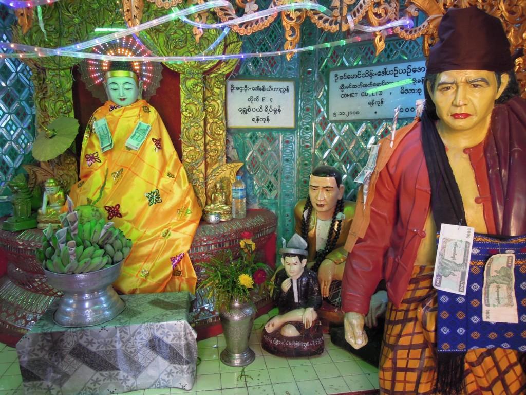 Kult natów z powodzeniem włączono do praktyk buddyjskich, fot. M. Lehrmann