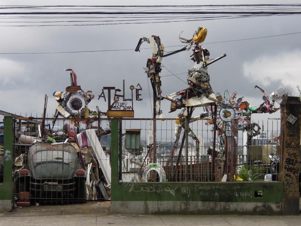 Santa Teresa to ulubiona dzielnica artystów w Rio, fot. M. Lehrmann