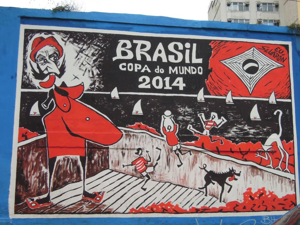 Brazylia przygotowuje się na Mistrzostwa Świata Piłce Nożnej w 2014, Lapa, Rio de Janeiro, fot. M. Lehrmann