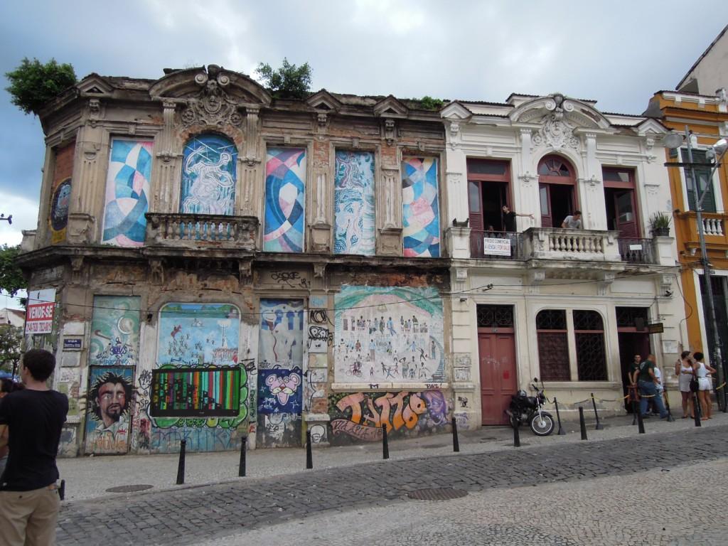 Tradycyjnie brazylijska, a przy tym rozrywkowa dzielnica miasta Lapa, Rio de Janeiro, fot. M. Lehrmann