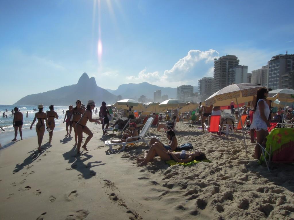 Tu rodzą się trendy w modzie plażowej, Ipanema, fot. M. Lehrmann