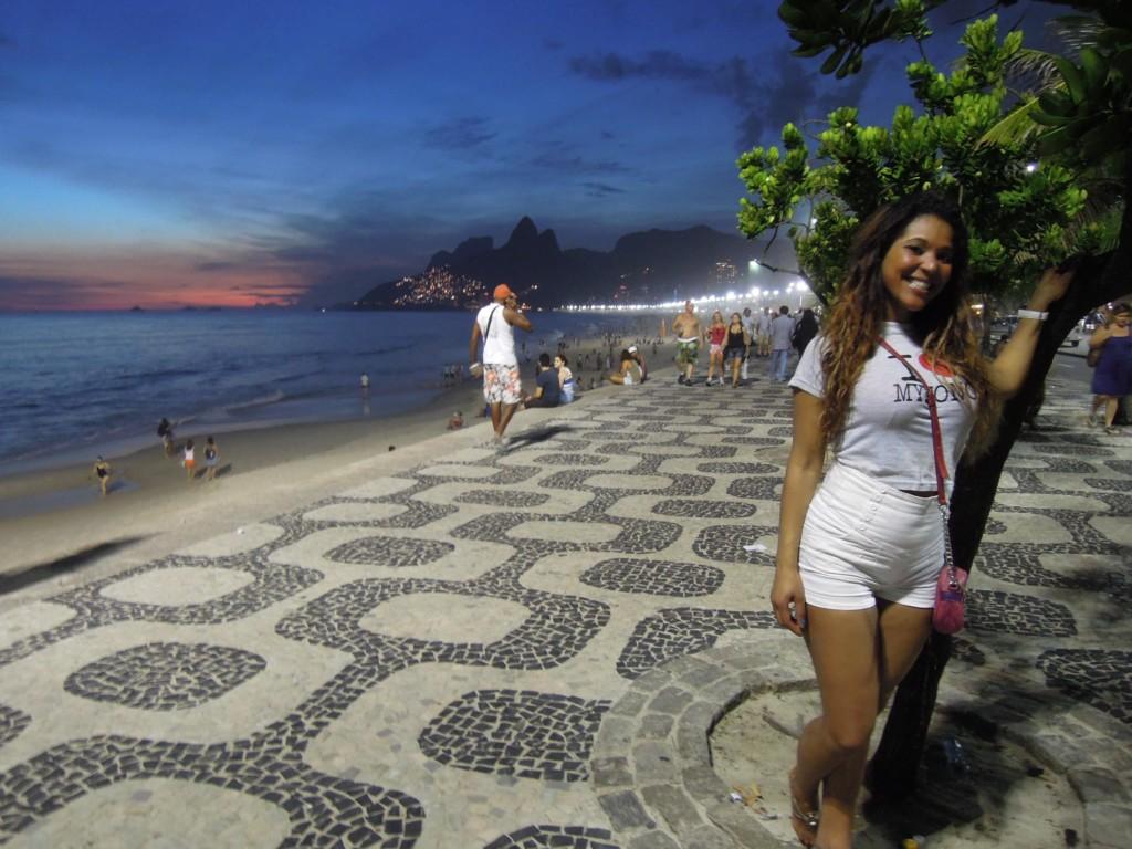 Dziewczyna z Ipanemy, prawie jak w piosence Antonio Carlosa Jobim, fot. M. Lehrmann