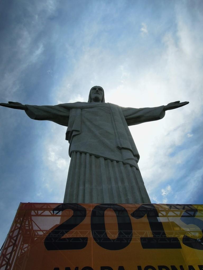 Mierząca 30 metrów figura Chrystusa Odkupiciela od ponad 80 lat jest symbolem miasta, Rio de Janeiro, fot. M. Lehrmann