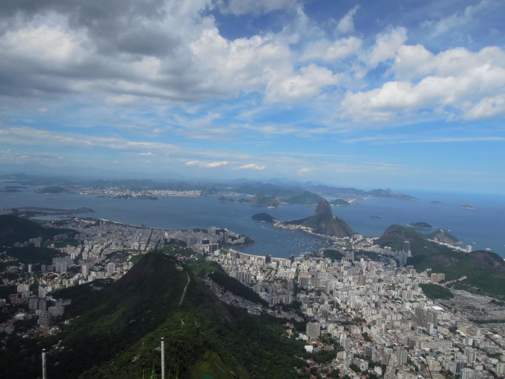 Położone na jednym z najpiękniejszych skrawków lądu na świecie miasto Rio de Janeiro, fot. M. Lehrmann